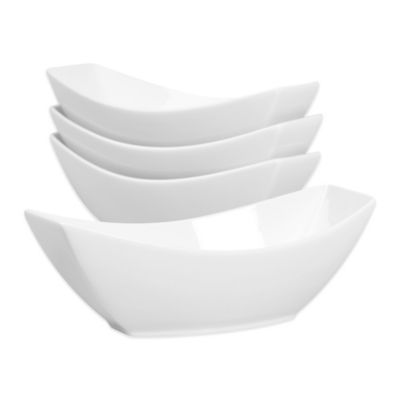 Cooks® Oven to Table Boat-Shaped Bowls Serveware-Giftware