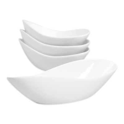 Tabletops Unlimited® Denmark Tools for Cooks® Oven to Table Oval Infinity Bowls (Set of 4)