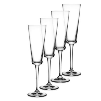 Fitz and Floyd® Jive Toasting Flute (Set of 4)