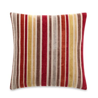 Mason Stripe Square Throw Pillow in Multi