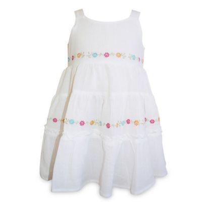 Blueberi Boulevard Size 18M Multi-Tiered Gauze Dress