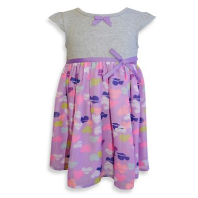 Blueberi Boulevard Size 4T Knit Print Dress