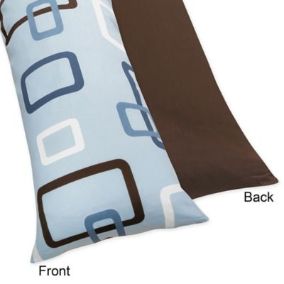 Baby Blue Brown Pillows