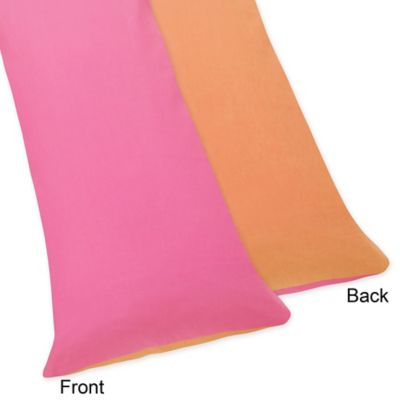 Pink Orange Pillow Case
