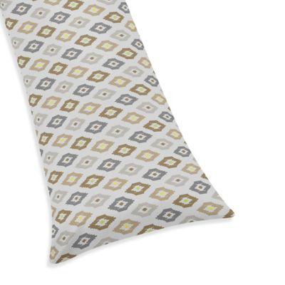 Sweet Jojo Designs Safari Outback Maternity Body Pillow Case