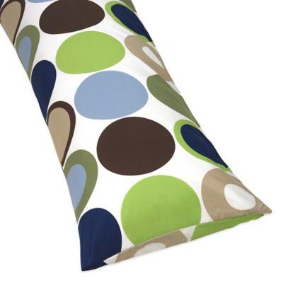 Sweet Jojo Designs Designer Dot Maternity Body Pillow Case
