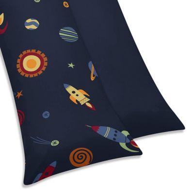 Sweet Jojo Designs Space Galaxy Maternity Body Pillow Case