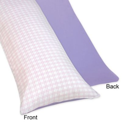 Sweet Jojo Designs Pretty Pony Maternity Body Pillow Case in Purple