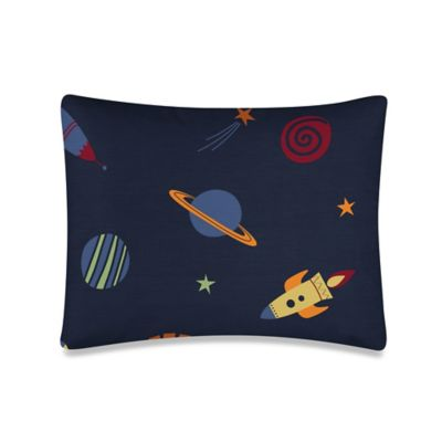 Sweet Jojo Designs Space Galaxy Standard Pillow Sham