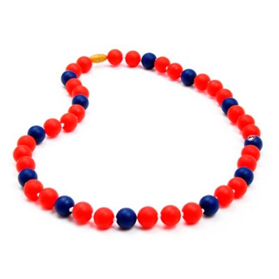 Chewbeads MLB Cleveland Indians Gameday Teething Necklace