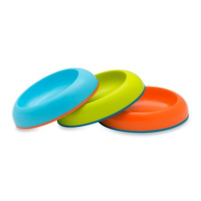 Boon Edgeless Bowls in Blue/Green/Red (Set of 3)