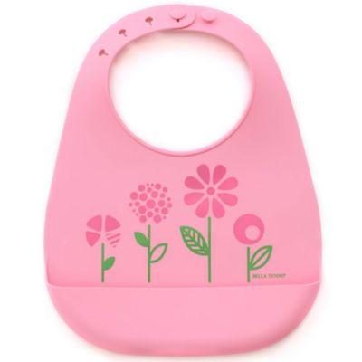 Bella Tunno Garden Baby Silicone Wonder Bib in Pink