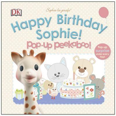 Sophie la giraffe: Happy Birthday Sophie! Pop-Up Peekaboo Board Book