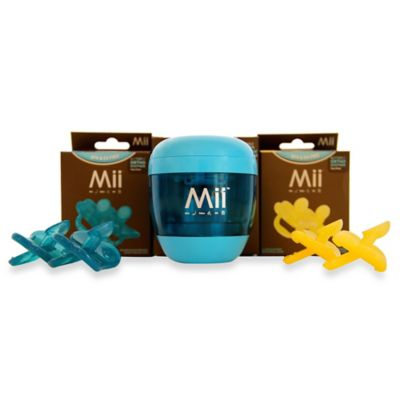 Mii™ UV Portable Pacifier and Nipple Sterilizer in Blue