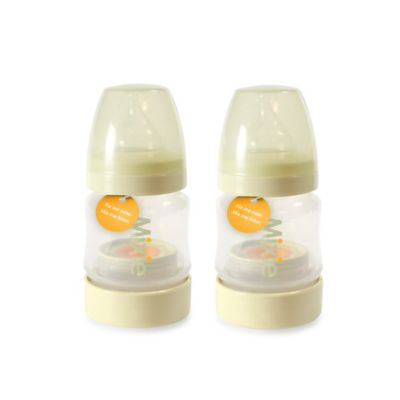 Mixie Formula Mixing 4 oz. Baby Bottles 2-Pack