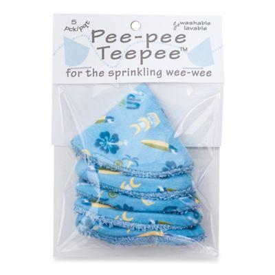 beba bean 5-Pack Pee-Pee Teepee™ in Surfing