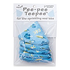 beba bean 5-Pack Pee-Pee Teepee™ in Surfing
