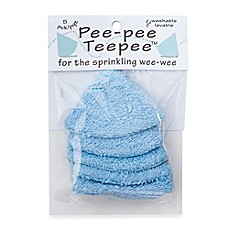 beba bean 5-Pack Pee-Pee Teepee™ in Terry Blue