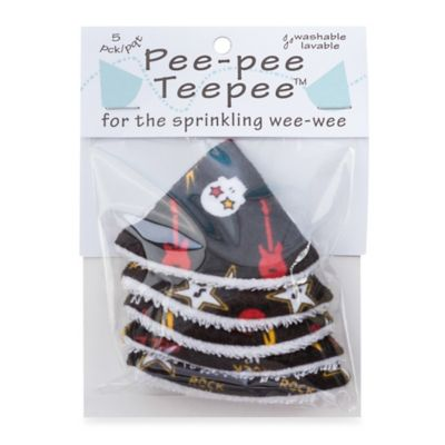 beba bean 5-Pack Pee-Pee Teepee™ in Skulls