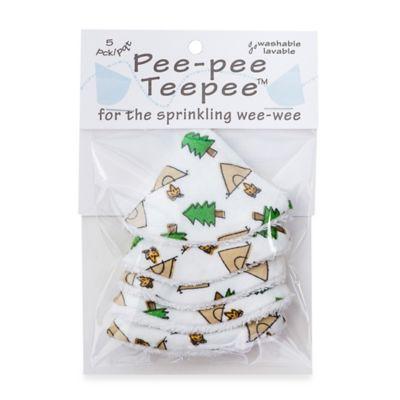 beba bean 5-Pack Pee-Pee Teepee™ in Camping