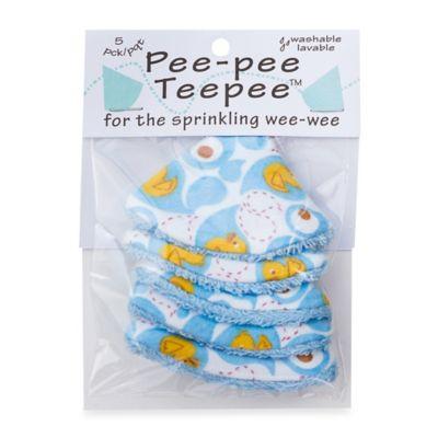 beba bean 5-Pack Pee-Pee Teepee™ in Rubber Ducky