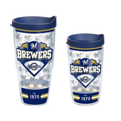 Tervis® MLB Milwaukee Brewers Classic 16 oz. Wrap Tumbler with Lid