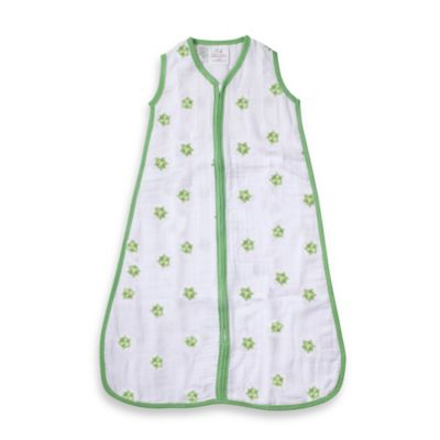 aden® by aden + anais® Small Muslin Sleeping Bag in Mod Turtle