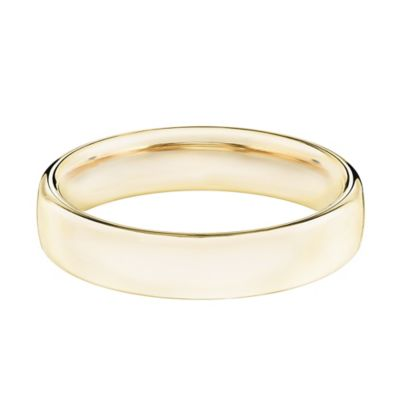 14K Yellow Gold Size 13 Men's Comfort Fit 5.5mm Wedding Band