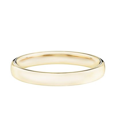 14K Yellow Gold Size 8 Ladies' Comfort Fit 3.5mm Wedding Band