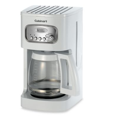 Cuisinart® 12-Cup Programmable Coffee Maker in White