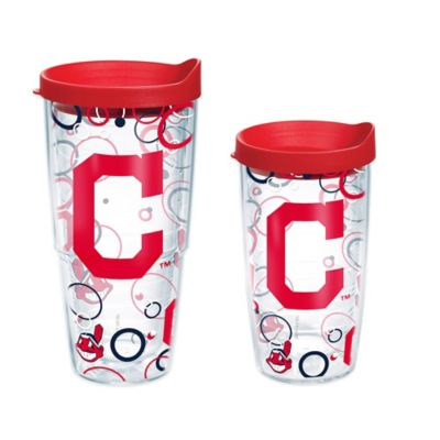 Tervis® MLB Cleveland Indians 16 oz. Bubble Up Wrap Tumbler with Lid