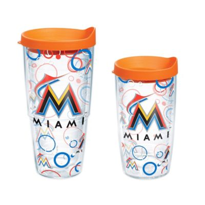Tervis® MLB Miami Marlins 16 oz. Bubble Up Wrap Tumbler with Lid