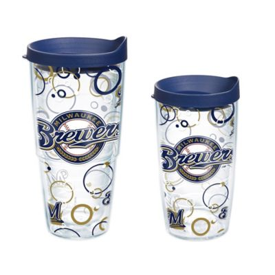 Tervis® MLB Milwaukee Brewers 16 oz. Bubble Up Wrap Tumbler with Lid