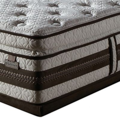Serta® iSeries® Profiles™ Caliber Super Pillow Top King Low Profile Mattress Set