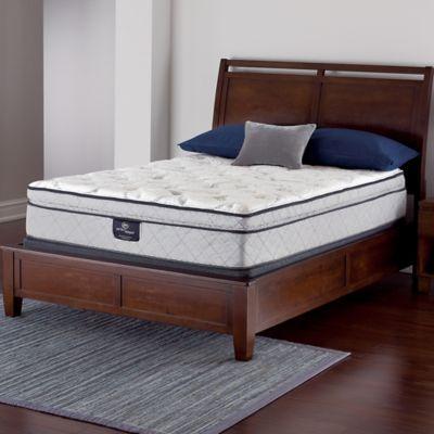 Serta® Perfect Sleeper® Crandon Super Pillow Top Low Profile Queen Mattress Set