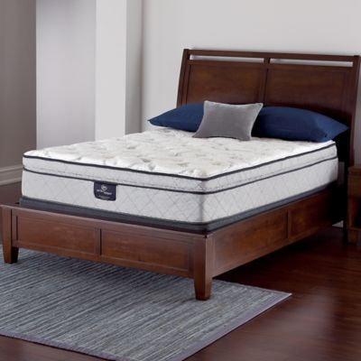 Serta® Perfect Sleeper® Crandon Super Pillow Top Low Profile Twin Mattress Set