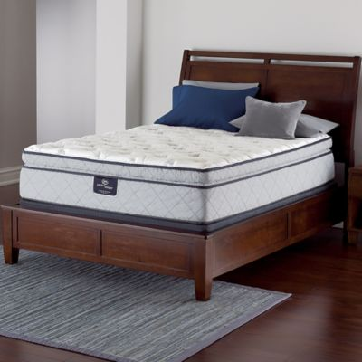 Serta® Perfect Sleeper® Felton Super Pillow Top Queen Mattress Set