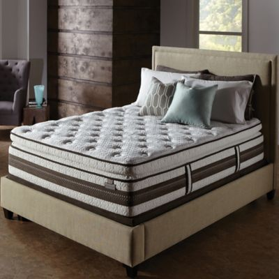 Serta® iSeries® Profiles™ Honoree Super Pillow Top Low Profile Twin XL Mattress Set