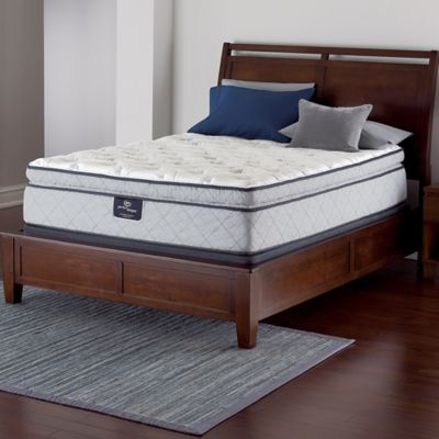 Serta® Perfect Sleeper® Felton Super Pillow Top Low Profile Queen Mattress Set