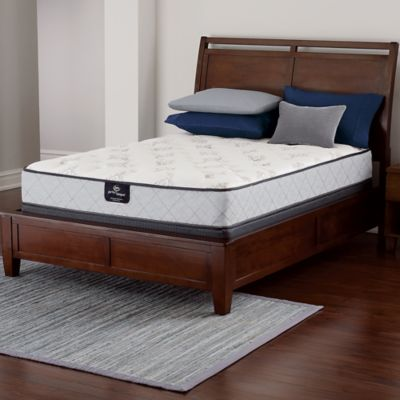 Serta® Perfect Sleeper® Latham Firm Low Profile Full Mattress Set