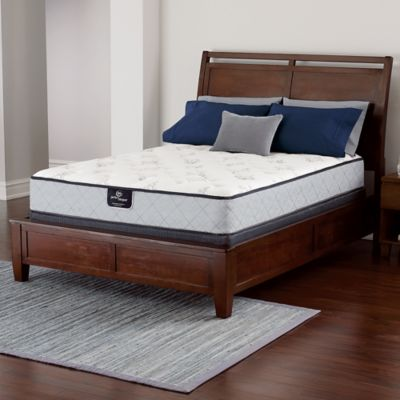 Serta® Perfect Sleeper® Latham Plush Low Profile Twin XL Mattress Set