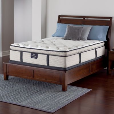Serta® Perfect Sleeper® Merrick Super Pillow Top Low Profile Twin Mattress Set