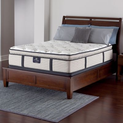Serta® Perfect Sleeper® Pederson Super Pillow Top Low Profile Twin Mattress Set