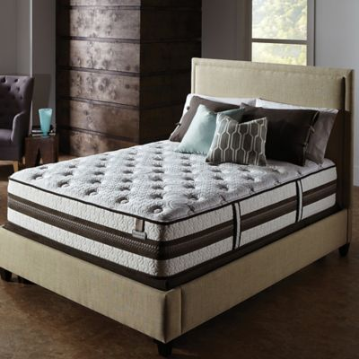 Serta® iSeries® Profiles™ Prominence Firm Low Profile Queen Mattress Set