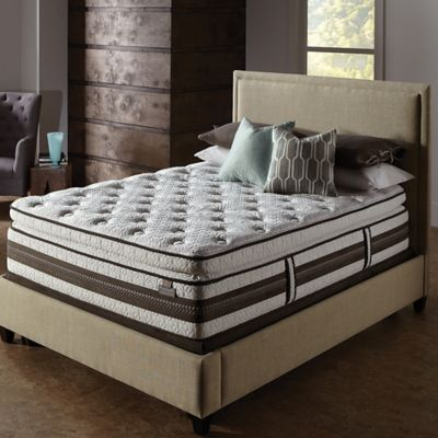 Serta® iSeries® Profiles™ Prominence Super Pillow Top Low Profile King Mattress Set