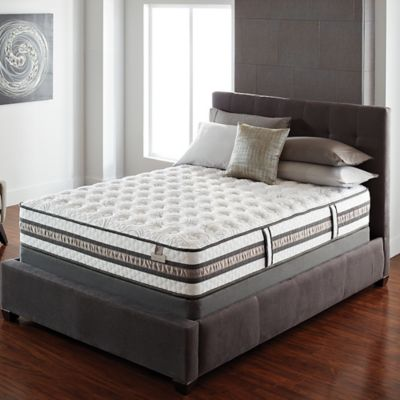 Serta® iSeries® Vantage Firm Low Profile California King Mattress Set