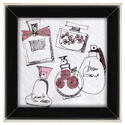 Perfume Sketch Wall Art