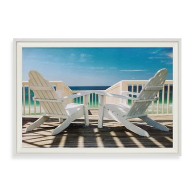 Deck Chairs Wall Art