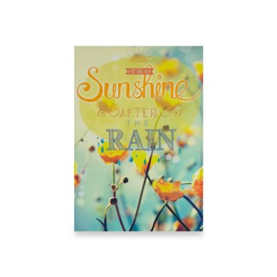 "Graham & Brown ""Sunshine After the Rain"" Canvas Wall Art"