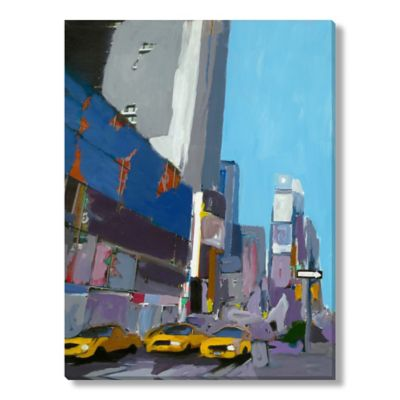 M. Drake Time Square I Canvas Wall Art